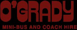 OGrady coach hire logo