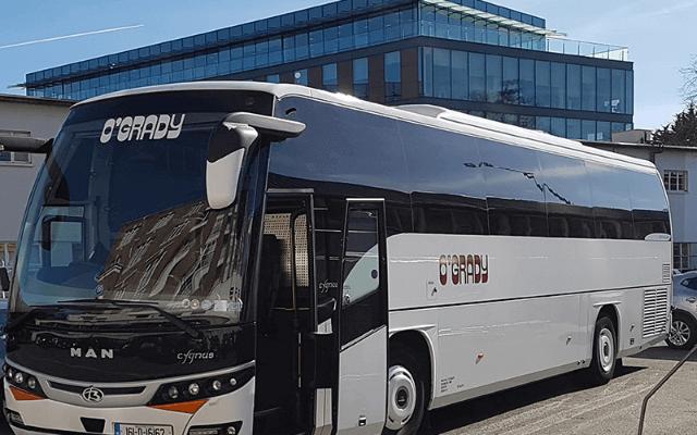 Ogrady Coaches bus