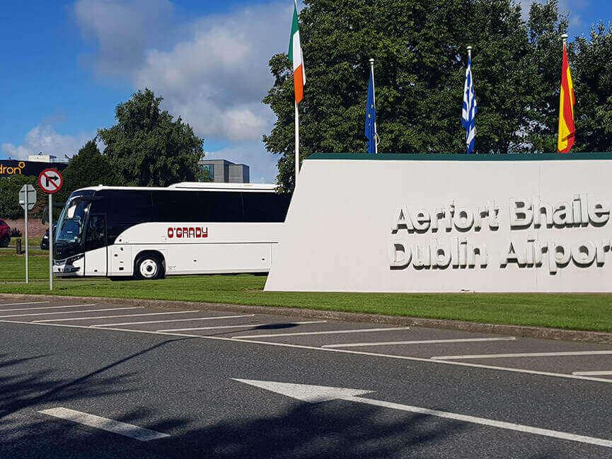OGrady Coaches Dublin Airport executive and tourist transfers