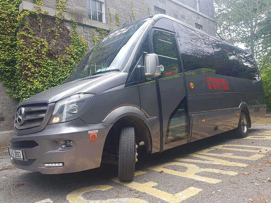 OGrady Coaches executive mini bus country house Ireland