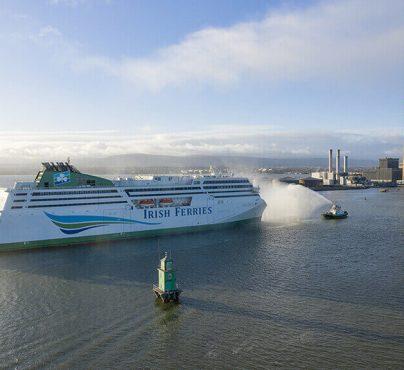 OGrady mini bus hire Dublin port